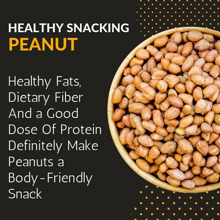 Healthy snacking  Peanuts are an excellent plant-based source of protein and high in various vitamins, minerals, and plant compounds. They can be useful as a part of a weight loss diet and may reduce your risk of heart disease. Use them as a healthy snack in your diet. Moderation is the best way for balanced diet.  #peanuts #healthy #healthysnacking #diet #balanceddiet