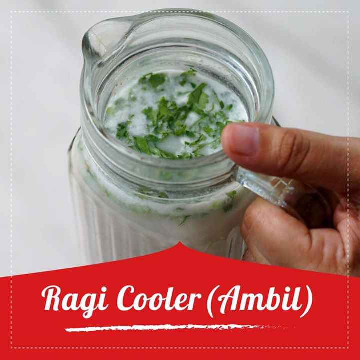 If you are looking for a quick & healthy energy booster make this easy Ragi cooler- Ambil. This can be served as a porridge for breakfast or a refreshing drink to quench your thirst on a hot summer day.  It is made using ragi powder and buttermilk and is a perfect drink to sip on warm summer days. Check out for the whole recipe at the link below   https://youtu.be/oj9QsrYqi6k  #ragi #ragiambil #ragicooler #ragirecipe