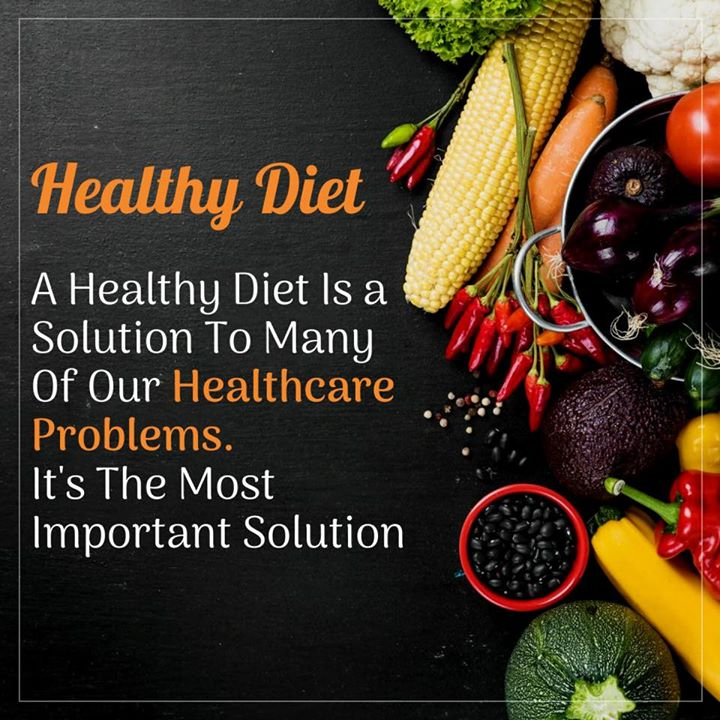 Healthy diet is solution to many diseases.  #healthydiet #diet #health #disease