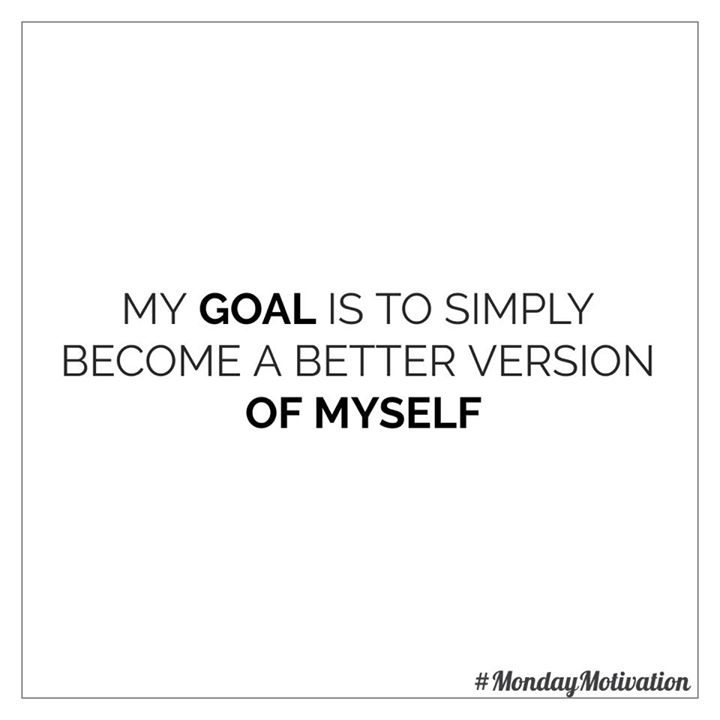 #mondaymotivation #goals #better #healthyyou #healthy #fit #fitness