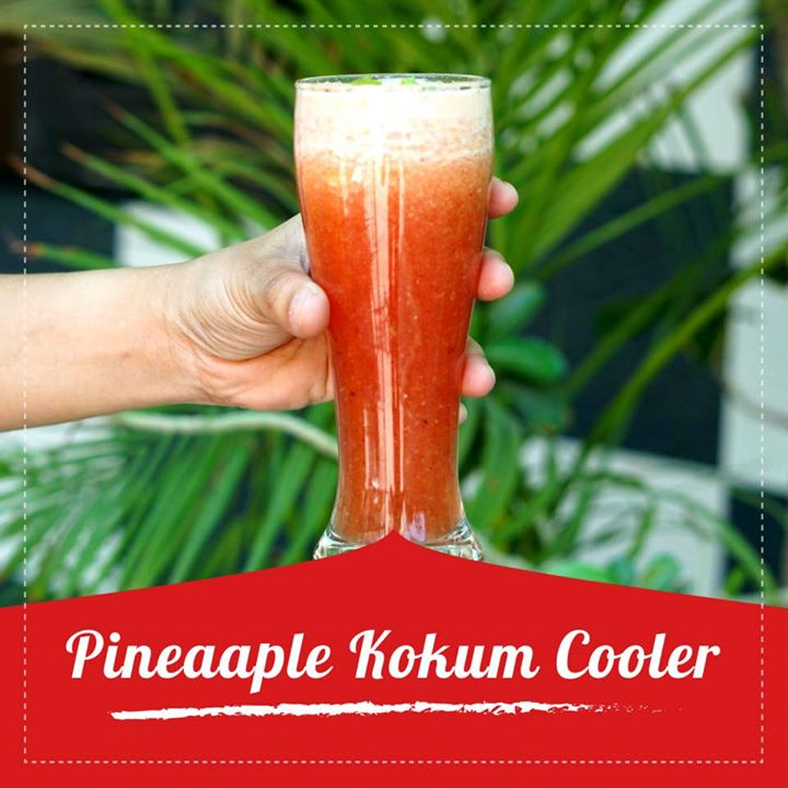 Kokum juice has a cooling effect on the body and shields the body against dehydration and sunstroke. When mixed with pineapple it gives a great flavour nourishing the body with the nutrients juice poses.  Check out the recipe for the kokum cooler https://youtu.be/7byhDKt3MgA #kokum #kokumcooler #kokumjuice #healthyrecipe #summerrecipe