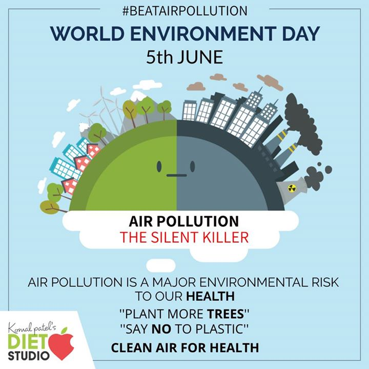 #beatairpollution  Beat Plastic Pollution a call to action for all of us to come together to combat one of the great environmental challenges of our time. #wotldenviornmentday #enviornment #cleanair #cleanhealth #health #pollution