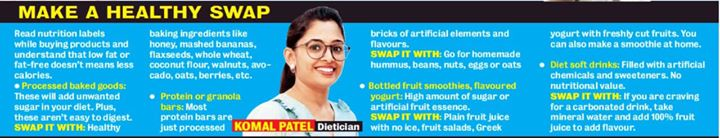 Got featured in #ahmedabadmirror  All about healthy swap for a healthy lifestyle.  #timesofindia #health #healthyswap #healthylifestyle