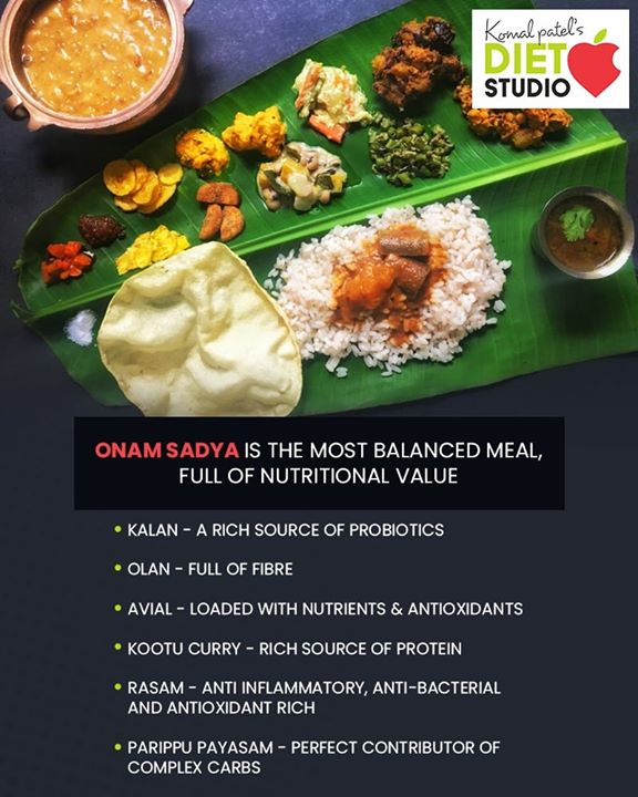 Indulge in a heartfelt #Onamsadya!   #komalpatel #diet #goodfood #eathealthy #goodhealth #happyonam