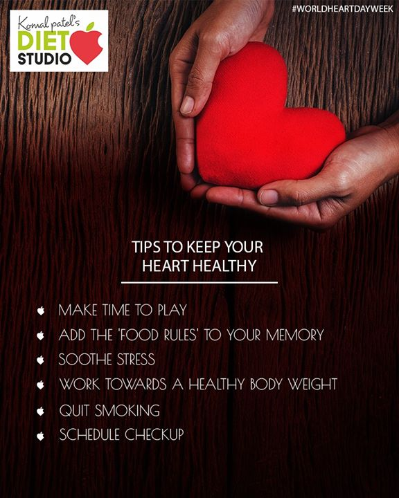 Keep a check on these steps to ensure a healthy heart!  #komalpatel #diet #goodfood #eathealthy #goodhealth