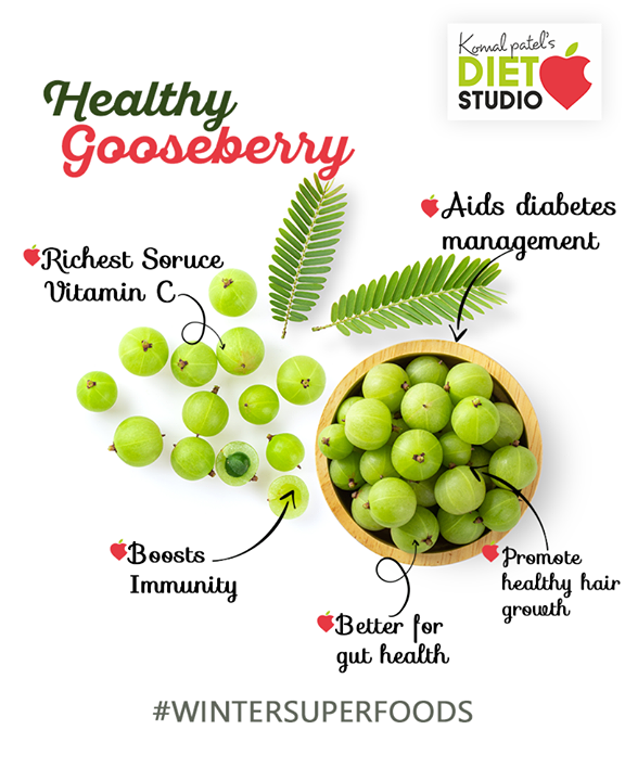 Indian Gooseberry (Amla), due to its powerful antioxidant properties, it has been used in Ayurveda for thousands of years to boost immunity and improve health. Traditionally, it has been used to treat cold and cough, improve digestion, enhance fertility, and improve hair growth.  #komalpatel #diet #goodfood #eathealthy #goodhealth