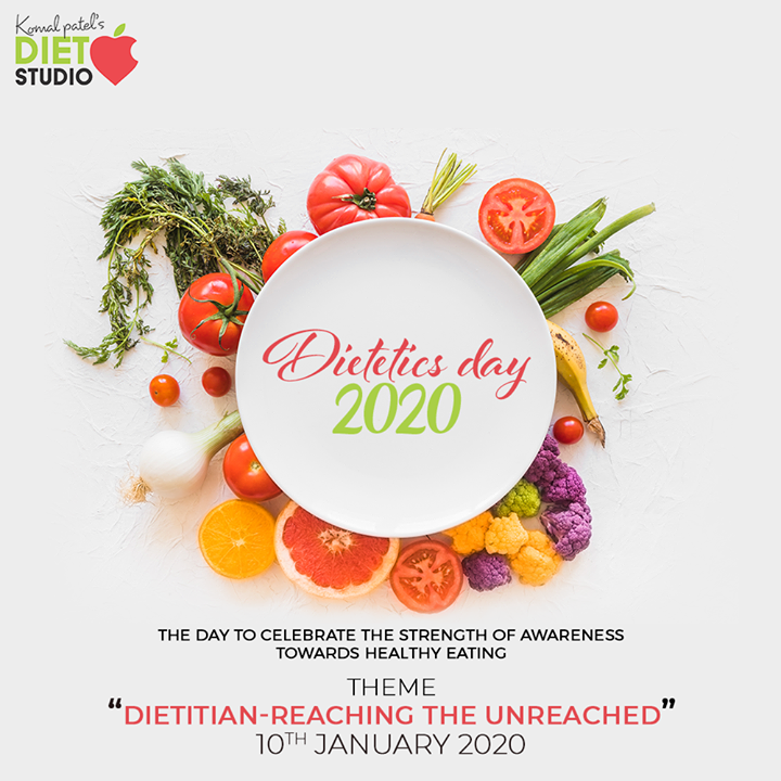 The day to celebrate the strength of awareness towards healthy eating  #dieteticsday #dieteticsday2020 #komalpatel #diet #goodfood #eathealthy #goodhealth