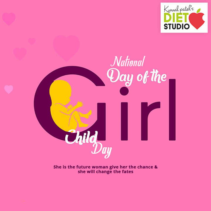 She is the future woman give her the chance & she will change the fates.   #NationalGirlChildDay #BetiBachaoBetiPadhao #GirlChild #Savegirlchild #NationalGirlChildDay2020 #komalpatel #diet #goodfood #eathealthy #goodhealth