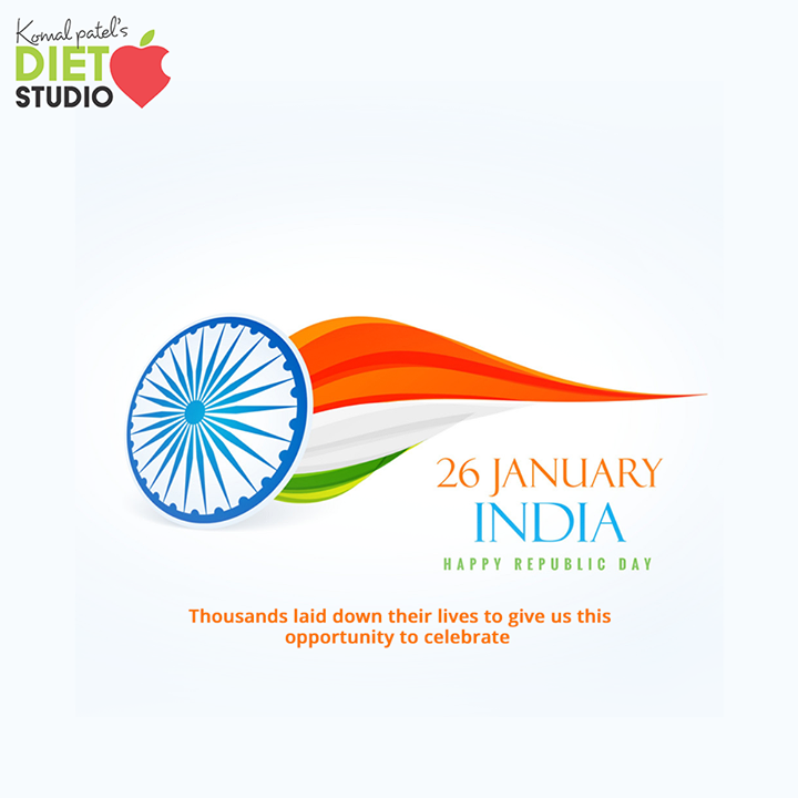 Good nutrition is important fundamental right of every citizen. Healthy food, Healthy body, Healthy mind makes a healthy nation. So wake up and realize your fundamental right.  Happy republic day.  Thousands laid down their lives to give us this opportunity to celebrate  #HappyRepublicDay #RepublicDay #26thJanuary #IndianRepublicDay #ProudToBeIndian #komalpatel #diet #goodfood #eathealthy #goodhealth