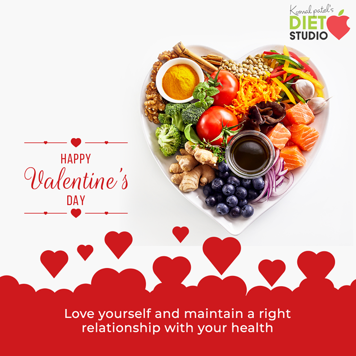 Love yourself enough to live a healthy lifestyle  #ValentinesDay #Valentines2020 #Valentines #DayOfLove #Love #ValentinesDay2020 #komalpatel #diet #goodfood #eathealthy #goodhealth