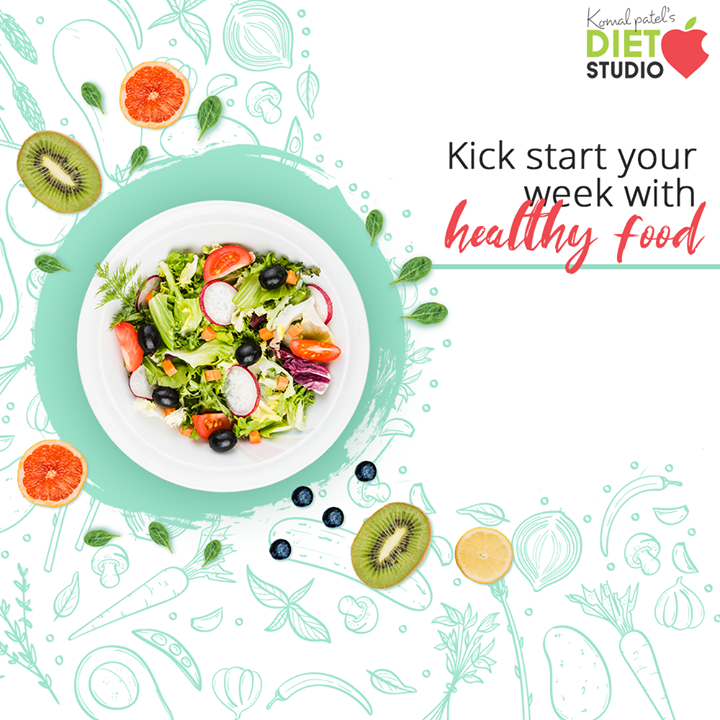It's Monday! Good time to begin your healthy food, healthy life resolution...  #komalpatel #diet #goodfood #eathealthy #goodhealth