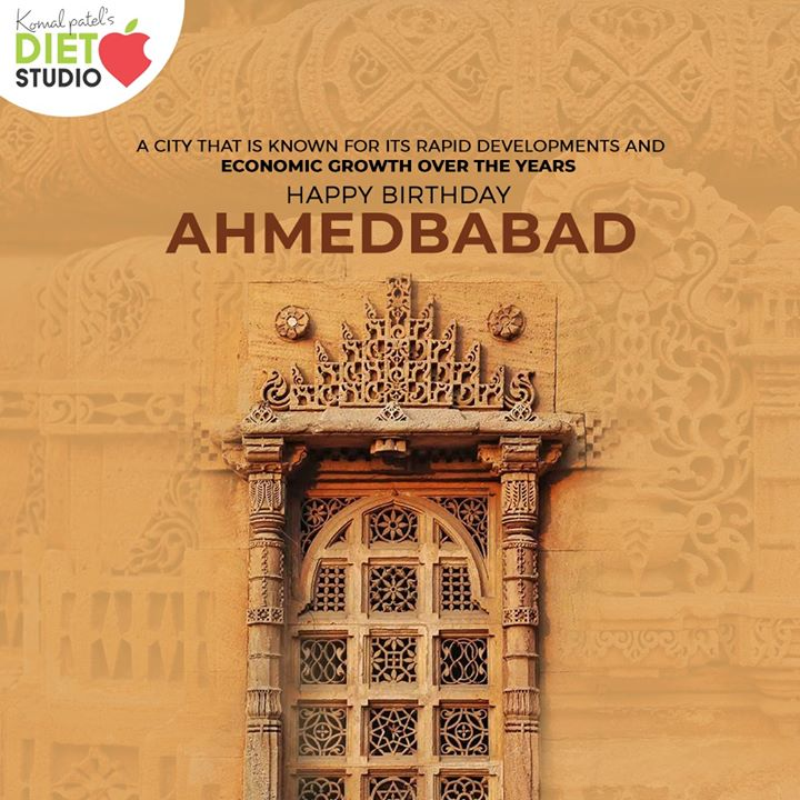 A city that is known for its rapid developments and economic growth over the years. HappyBirthdayAhmedabad  #HappyBirthdayAmdavad #HappyBirthdayAhmedabad #AhmedabadBirthday #MaruAmdavad #HappyBirthdayAmdavad2020 #komalpatel #diet #goodfood #eathealthy #goodhealth