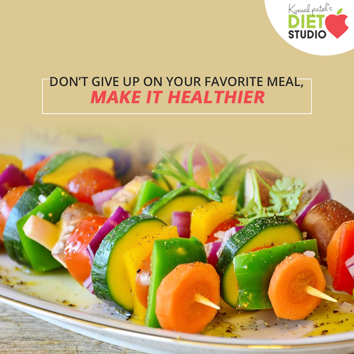 A healthy diet doesn't mean to give up on the food you love, just make it healthier with nutritious ingredients  #komalpatel #diet #goodfood #eathealthy #goodhealth