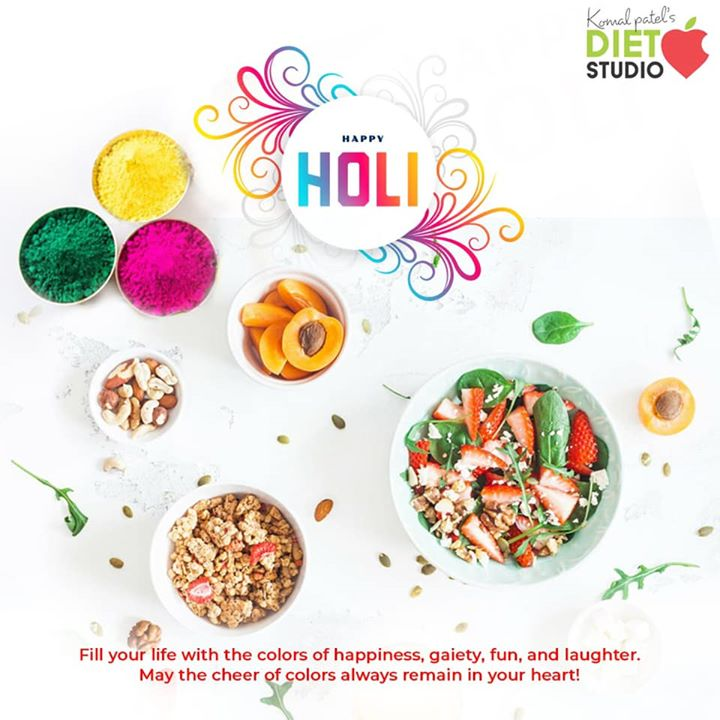 Add colors to your life by adding fresh and colorful foods in your diet. Happy and healthy holi... #happyholi #healthyholi #holi #colours #colors #foods #healthyfood #healthylife #colourfullife #Komal Patel