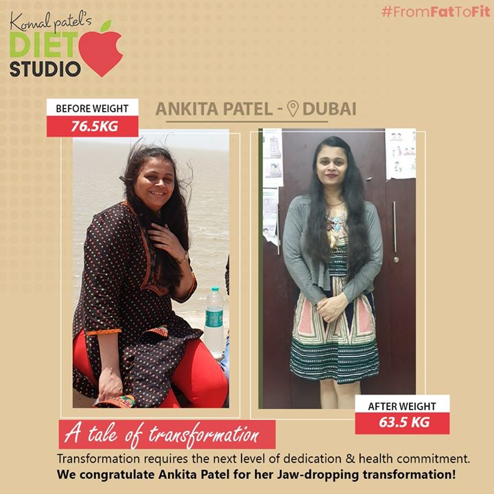 Be an inspiration for people who are struggling to lose weight.  #dietstudio #weightloss #weightlossjourney #komalpatel #dietclinic #healthylifestyle