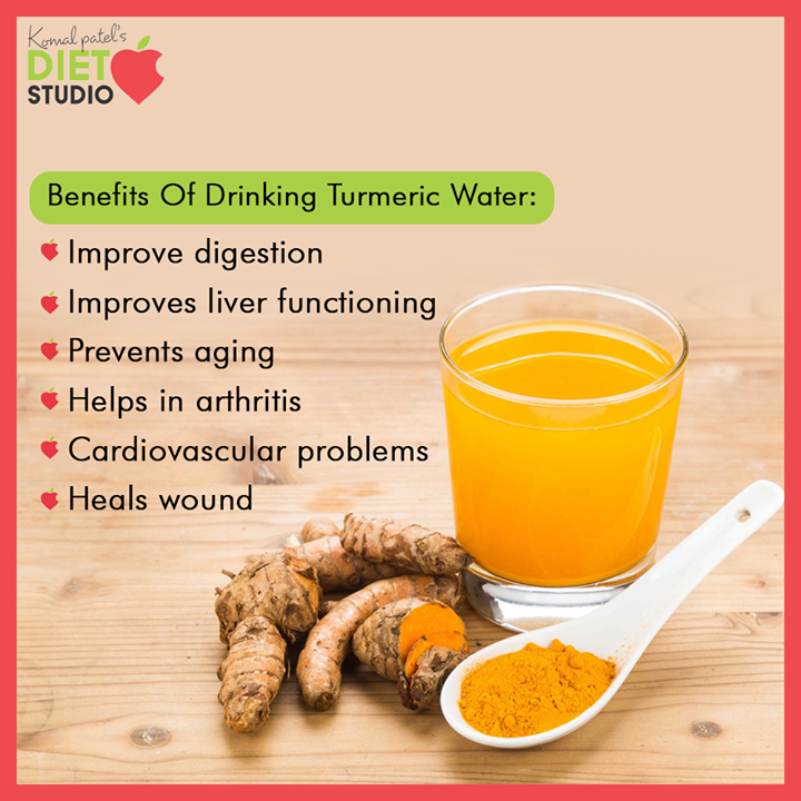 Drinking turmeric water can do wonders for your heart. Turmeric reduces cholesterol levels and prevents atherosclerosis, and in doing so, the spice protects against blood clots and plaque buildup in the arteries.  #komalpatel #diet #goodfood #eathealthy #goodhealth