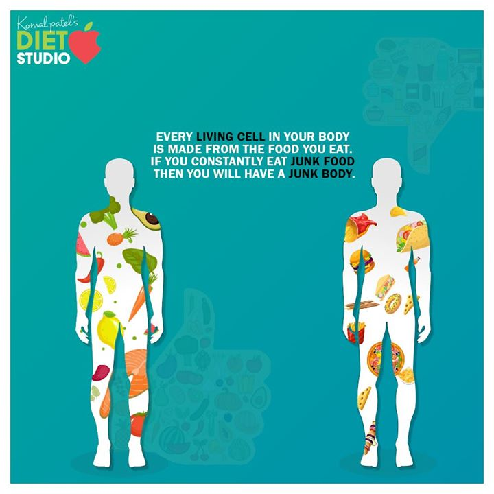 Eating junk food on a regular basis can lead to an increased risk of obesity and chronic diseases like cardiovascular disease, type 2 diabetes, non-alcoholic fatty liver disease, and some cancers.   #komalpatel #diet #goodfood #eathealthy #goodhealth