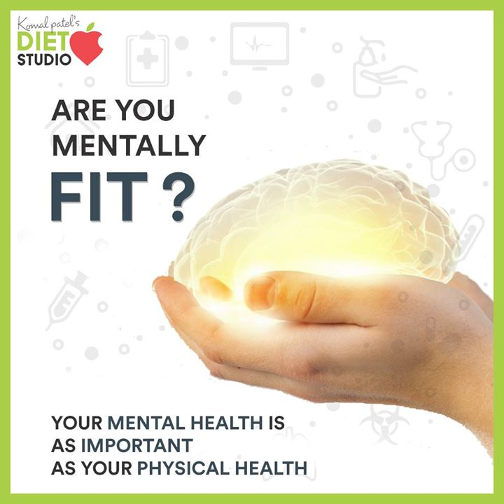 Mental health and physical health are closely connected. Mental health plays a major role in people's ability to maintain good physical health. Mental illnesses, such as depression and anxiety, affect people's ability to participate in health-promoting behaviors.  #komalpatel #diet #goodfood #eathealthy #goodhealth
