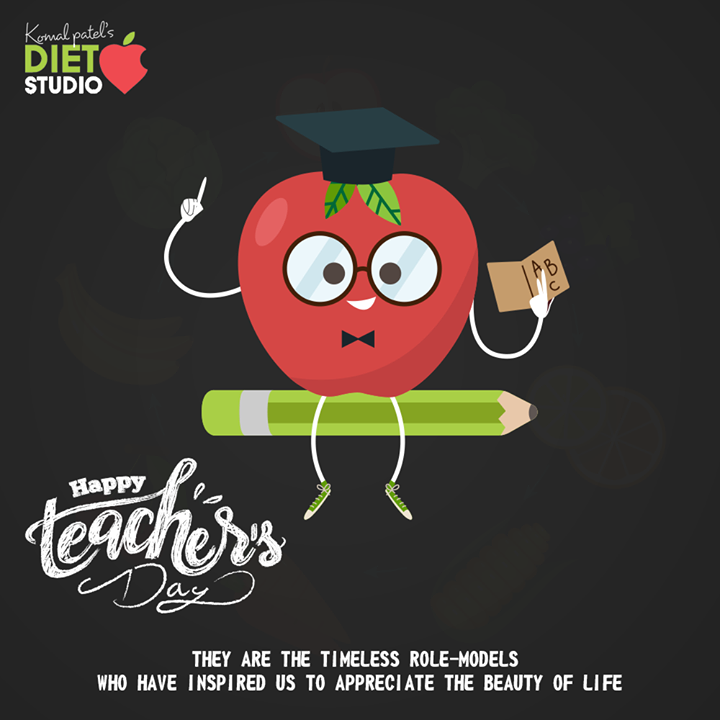 They are the timeless role-models who have inspired us to appreciate the beauty of life  #HappyTeachersDay #TeachersDay #Guru #TeachersDay2020 #ShriSarvepalliRadhakrishnan #komalpatel #diet #goodfood #eathealthy #goodhealth