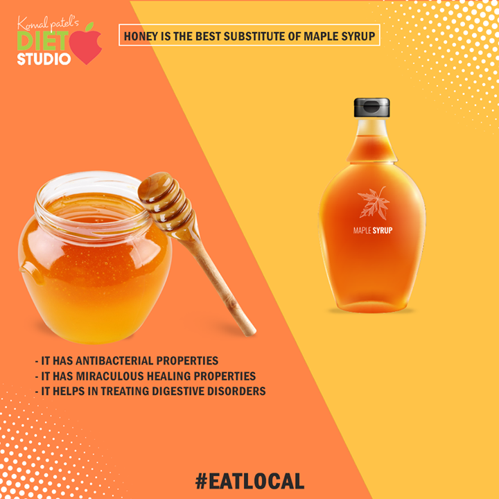 Komal Patel,  EatLocal, HoneyVersusMaple, KomalpPatel, Diet, GoodFood, EatHealthy, GoodHealth, DietPlan, DietConsultation