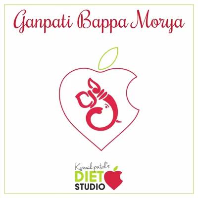 Diet studio wishes you all Happy Ganesh Chaturthi 🎊 And  Micchami Dukkadam  #ganeshchaturthi #ganpati #modak #micchamidukkadam #celebration #festivals #indian
