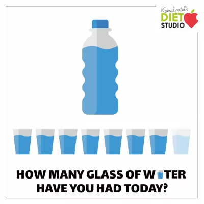 Drinking water is the essential part of healthy lifestyle. Comment how many glasses you had today ? #water #healthylifestyle #health #glass
