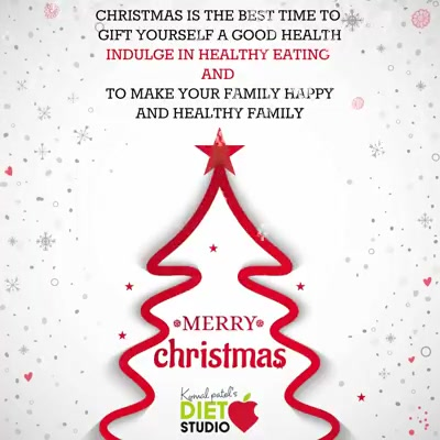 May this Christmas end the present year on a cheerful note and make way for a fresh and bright new year. Here's wishing you a Merry Christmas and a Happy New Year! #chritsmas #merrychritsmas #komalpatel #dietitian #healthy