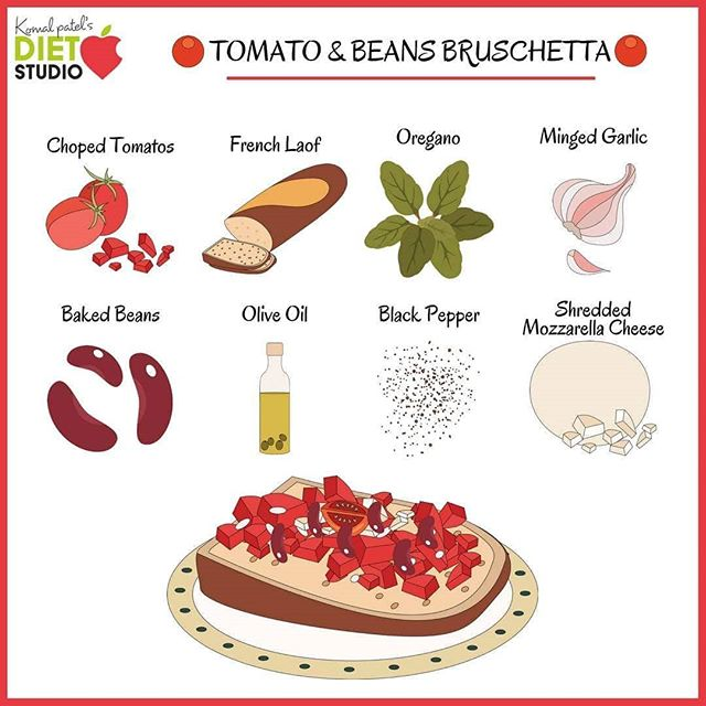 Komal Patel,  kidsnutrition, kidshealth, healthysnack, snacktime, kidslunch, lunchbox, lunchideas, healthyideas, beans, bruschetta, fit