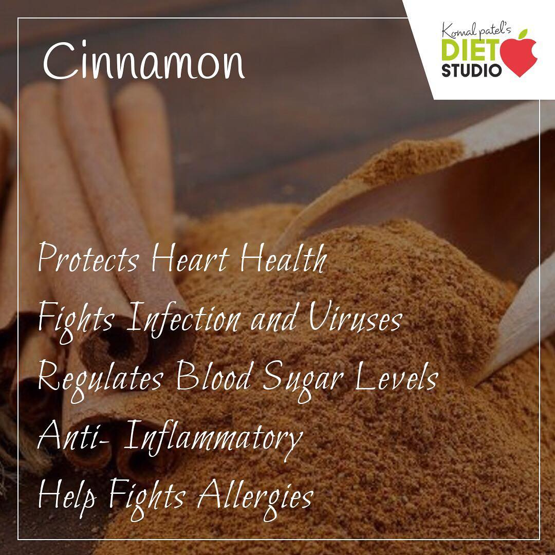 Not only is cinnamon delicious, but adding it to your diet might be beneficial to your health.  #cinnamon #benefits #spices #indianspices #hearthealth