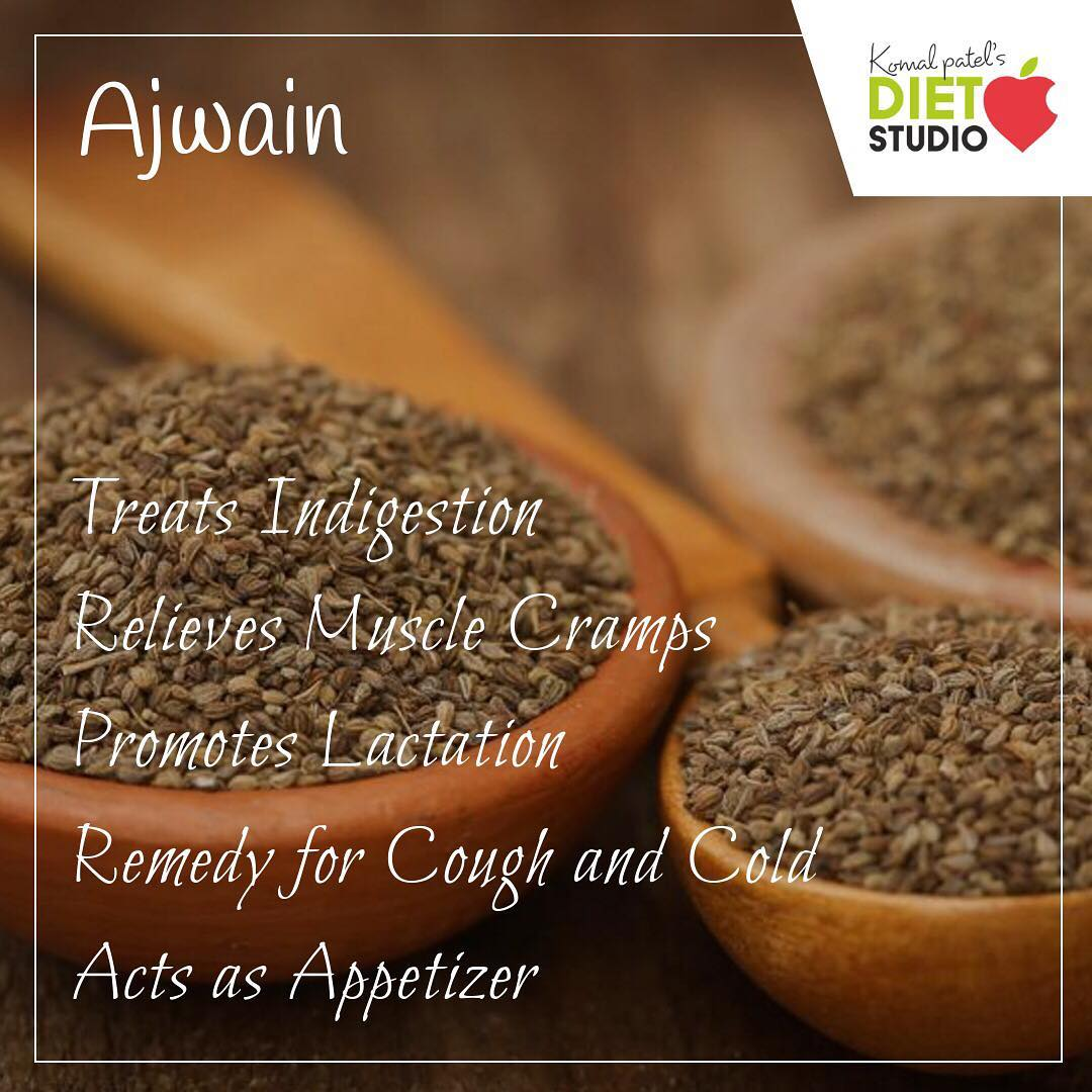 Ajwain, caraway, bishop's weed or carom seeds is an aromatic spice, used to flavor food and as a preservative, an essential oil with many health benefits. #ajwain #caraway #bishop #carom #spices #indanspices #health