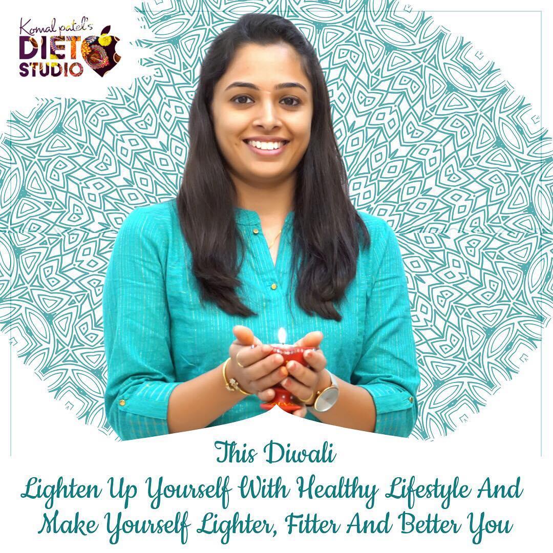 Diet studio wishes you all A very happy and healthy Diwali.  #diwali #happydiwali #happynewyear #diwaliwishes #dietstudio #dietclinic #komalpatel