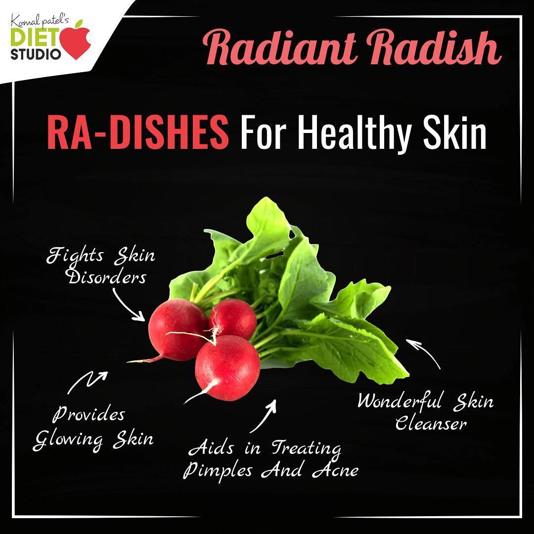 Komal Patel,  skin, radish, skincare, skinhealth, seasonalvegetable, vegetable, winterfood