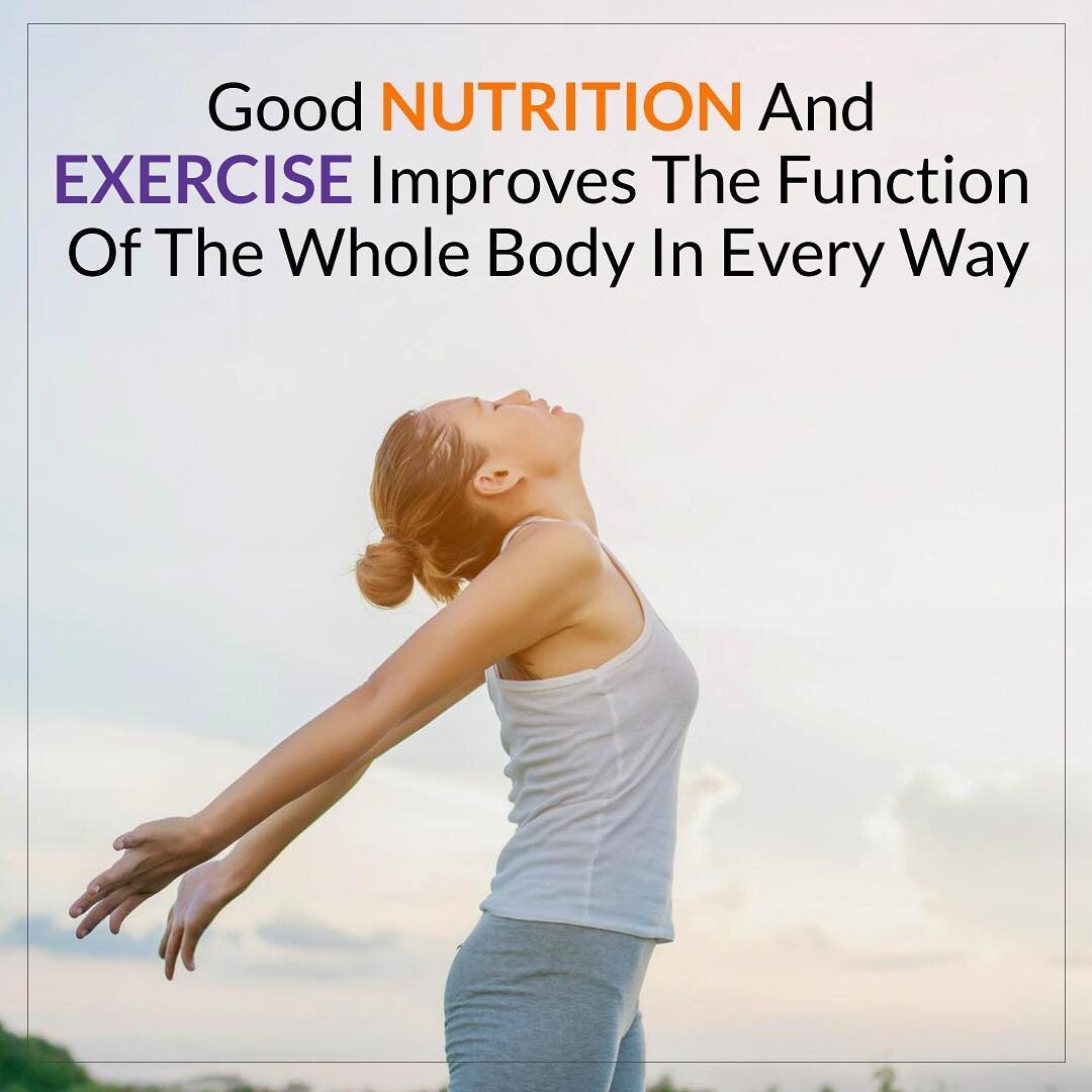 Good nutrition is an important part of leading a healthy lifestyle. Combined with physical activity, your diet can help you to reach and maintain a healthy weight, reduce your risk of chronic diseases and promote your overall health. #nutrition #exercise #health #healthybody #lifestyle #healthylifestyle