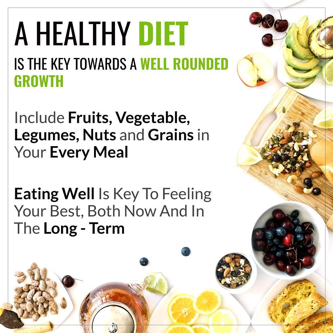 Healthy diet is important to maintain good health , to prevent chronic diseases, and to overall sense of wellbeing and vitality.  #healthydiet #diet #disease #health #wellbeing