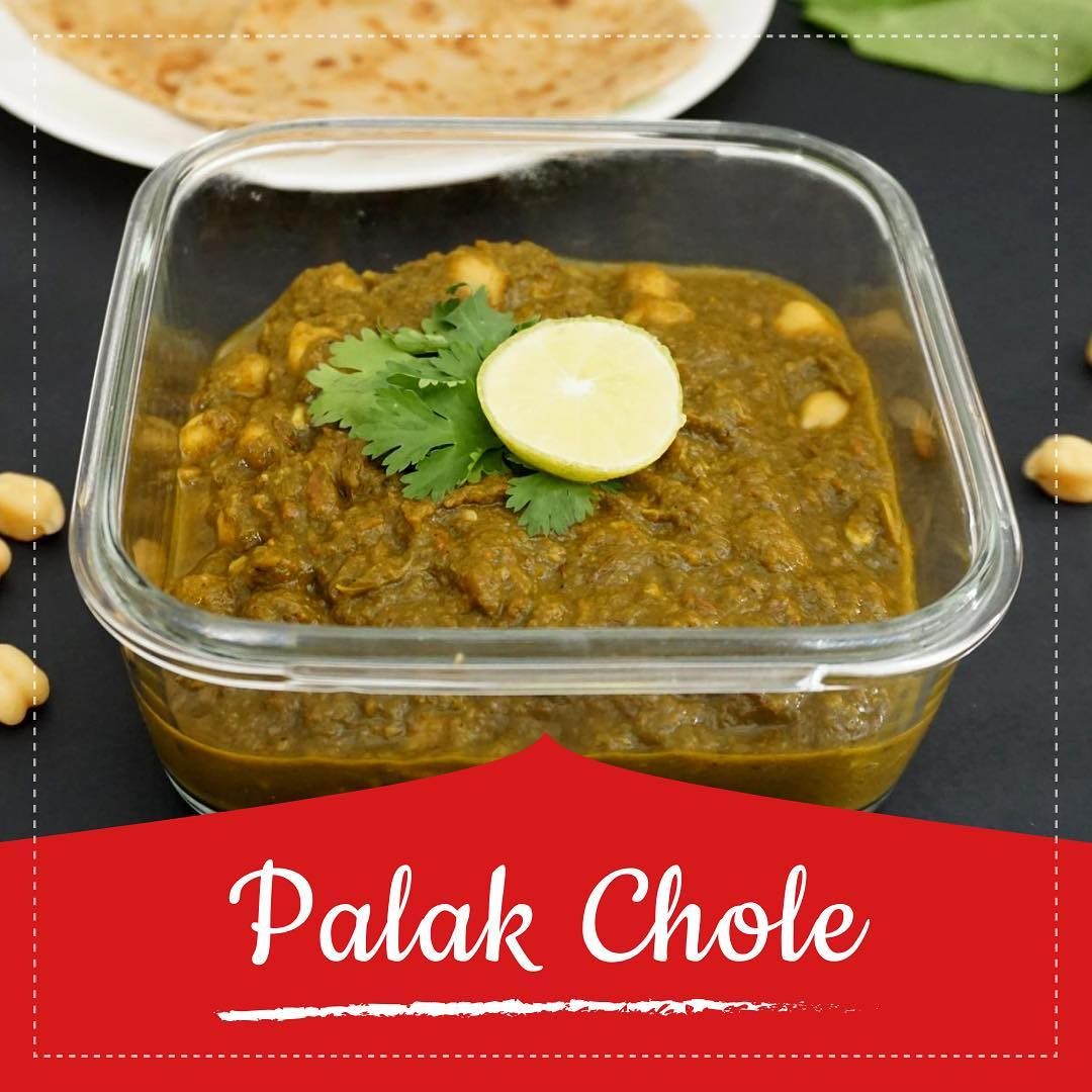Try a new variety of chole  Chickpeas and spinach is a great combination, and Chole Palak is a healthy, protein-rich dish. Chickpeas, also known as kabuli chana, are immersed in spicy spinach gravy. Check out for the recipe at the link below  https://youtu.be/Zmo4GnARkhY #palakchole #chole #healthyrecipe #palak #spinach