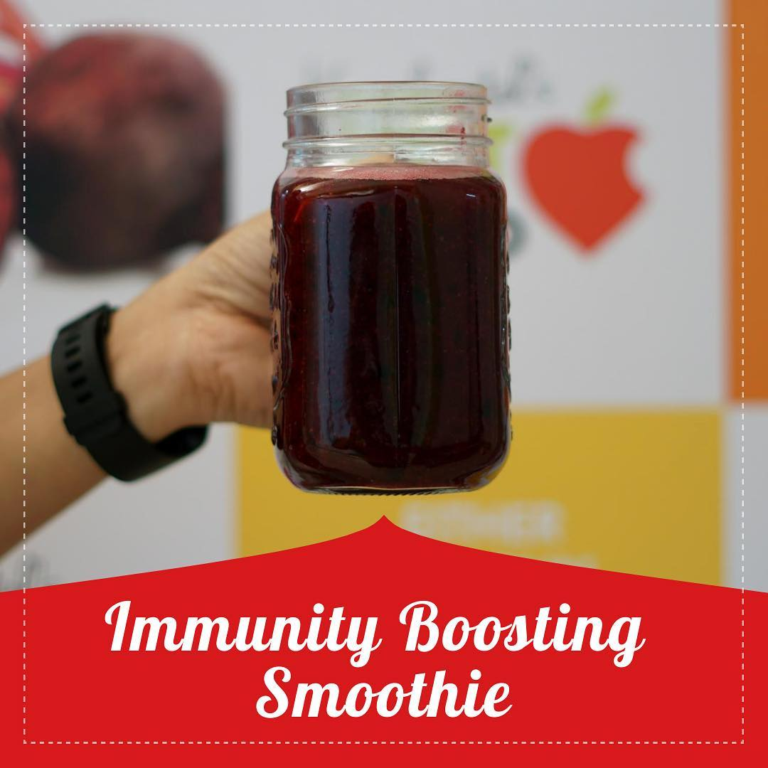Looking for the best smoothie to boost your immune system in the morning?  Immune boosting wellness smoothie packed with nourishing ingredients like beetroot , carrot,  dudhi, curry leaves.  Check out for the recipe at the link below  #recipe #smoothiee #detox #weightlosssmoothie #immunity #immune