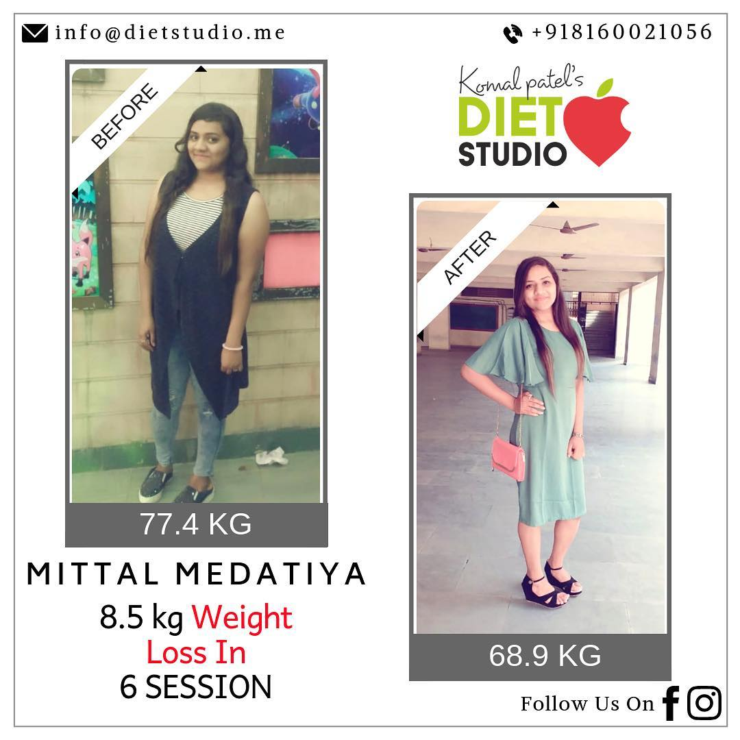 Yet another achievement of our client Mital. The picture says it all, her hard work, dedication and her willingness to be a fit youngster.  Congratulations Mital  #weightloss #fatloss #dietstudio #happyclients #dietplan #dietitian #testimonial #transformation #fattofit