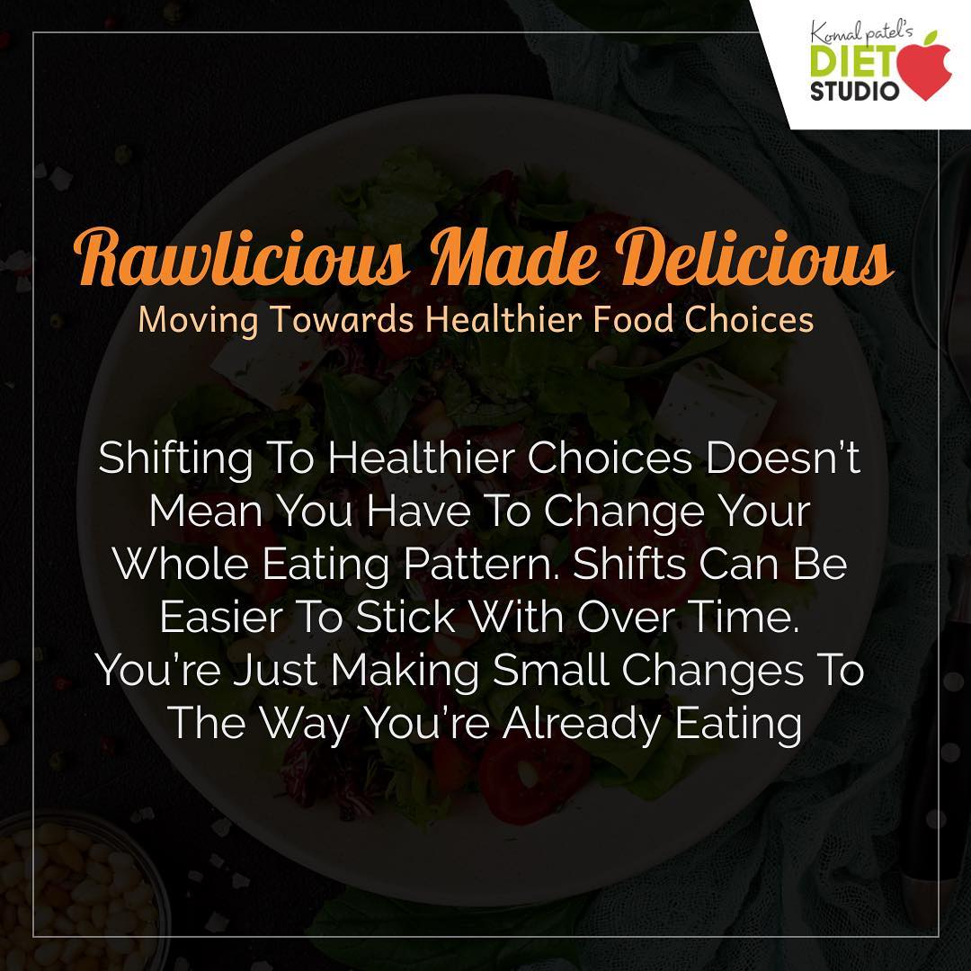 Healthy eating is about eating smart and enjoying your food. #diet #healthyeating #eatingclean #cleaneating #health #healthyfood #food #recipes #healthyrecipes #fit #fitness #lifestyle #healthylifestyle #lifestylechange #goodfood #goodvibes #dietitian #komalpatel #nutrition #nutrionist #ahmedabad #dietclinic #weightmanagment #weightloss #fatloss
