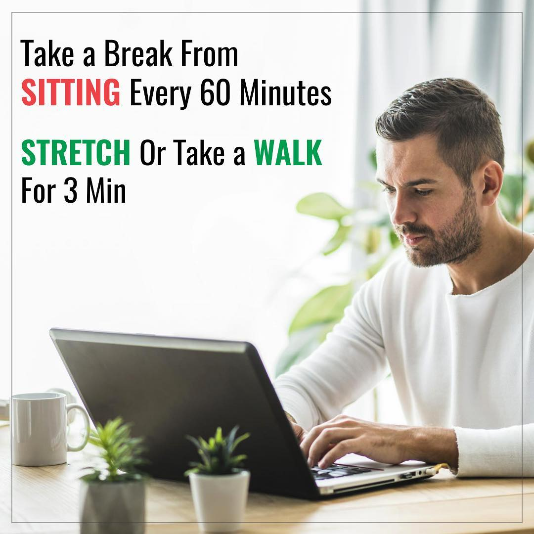 When you sit, you use less energy than you do when you stand or move. Research has linked sitting for long periods of time with a number of health concerns. They include obesity and a cluster of conditions increased blood pressure, high blood sugar, excess body fat around the waist and abnormal cholesterol levels that make up metabolic syndrome.  #sitting #deskjob #metabolicsyndrome #obesity #research