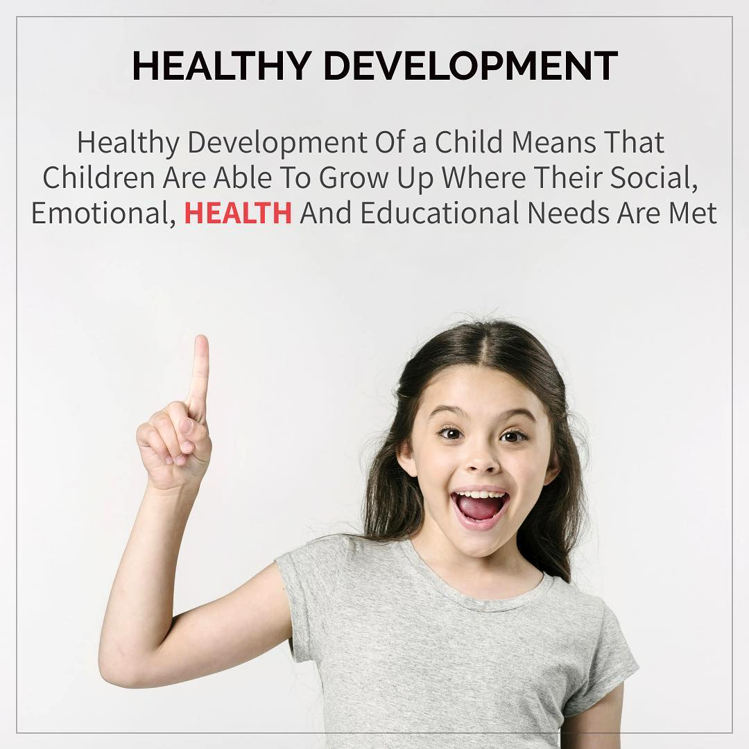 Isn't it true  Development means overall development in terms of social, emotional, health and education. #healthy #development #health #education #child #childhealth