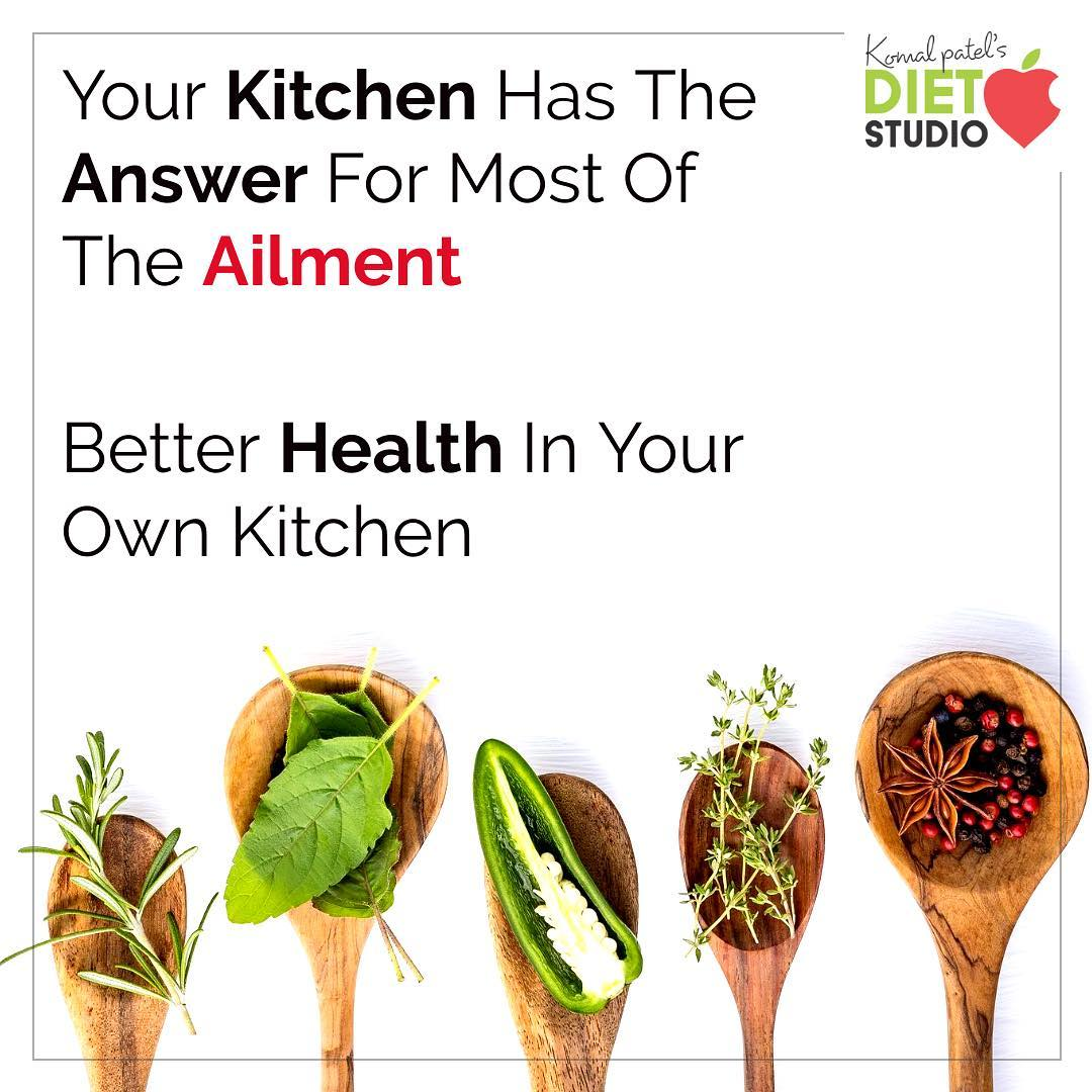 Spices not only add flavour to your favourite dishes, but have been proven to be very beneficial towards your overall health. #spices #ailment #kitchen #health