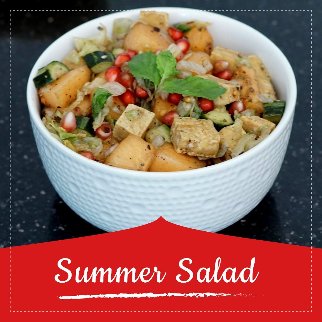 The summer salad recipes are the perfect go-to summer meal.  This salad is a mix of colorful and juicy fruits and vegetable tossed with vegan protein that is tofu to make it a complete meal. Check out the recipe in the link below  https://youtu.be/QZke25OAUzw  #summersalad #salad #healthyrecipe #healthysalad #tofu