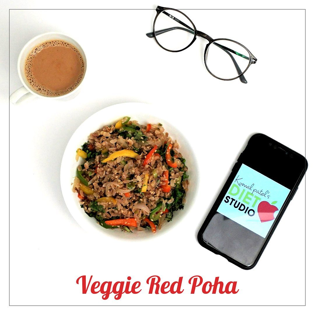 Think of a healthy Indian breakfast to kickstart your day and poha is probably going to be the first option to come to your mind. A healthier variation to the everyday poha is the red poha, which is made from red rice. unlike white rice, red rice doesn't undergo excessive processing, and as such the other bran layer remains intact, which is rich is fiber, vitamin B, and minerals like calcium, zinc, iron, manganese, magnesium etc. Red rice is also enriched with antioxidants  check out for the recipe in the link below  https://youtu.be/OnQU7E70Srg  #redricepoha #poharecipe #indianpoha #indianrecipe #redrice #healthybreakfast