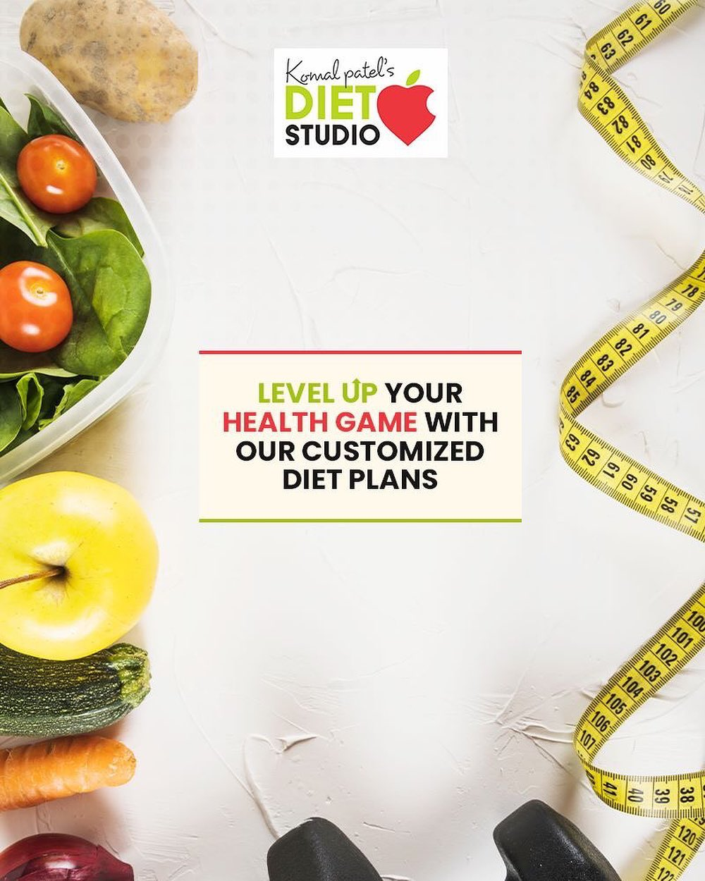 Looking for customized diet plans to achieve your goals? Achieve your desired health goals with our comprehensive guidance!  #komalpatel #diet #goodfood #eathealthy #goodhealth