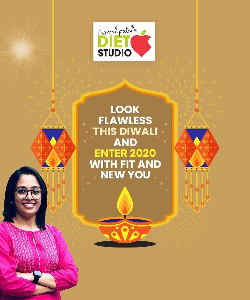 A little bit of planning, self-control and smart eating can help one avoid these unwanted festive binge after effects. This Diwali, stay happening & fabulous with our tailor-made diet plans  #komalpatel #diet #goodfood #eathealthy #goodhealth #dietstudio #dietclinic #diet #customiseddietplan