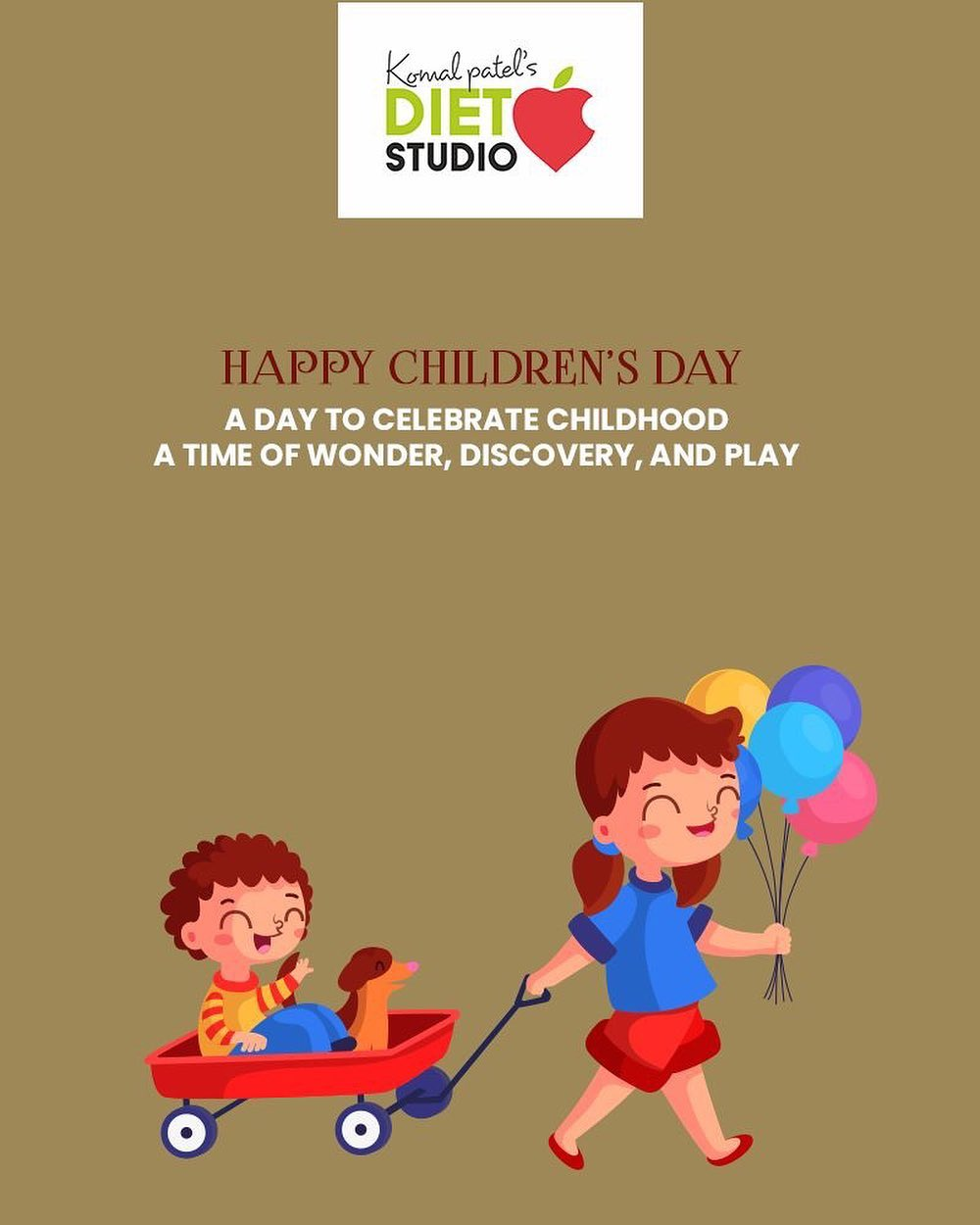 A day to celebrate childhood a time of wonder, discovery, and play.  #HappyChildrensDay #ChildrensDay #komalpatel #diet #goodfood #eathealthy #goodhealth