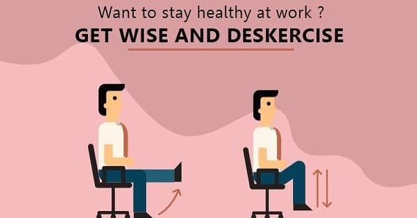 The term deskercise refers to exercise that can be performed throughout your workday and even from your desk.  sedentary office workers are doing long-term damage to their health by sitting all day. Let's learn some deskercise  Keep a check on the page to learn more about it. #deskercise #exercise #officeworkout #sedentarysolutions