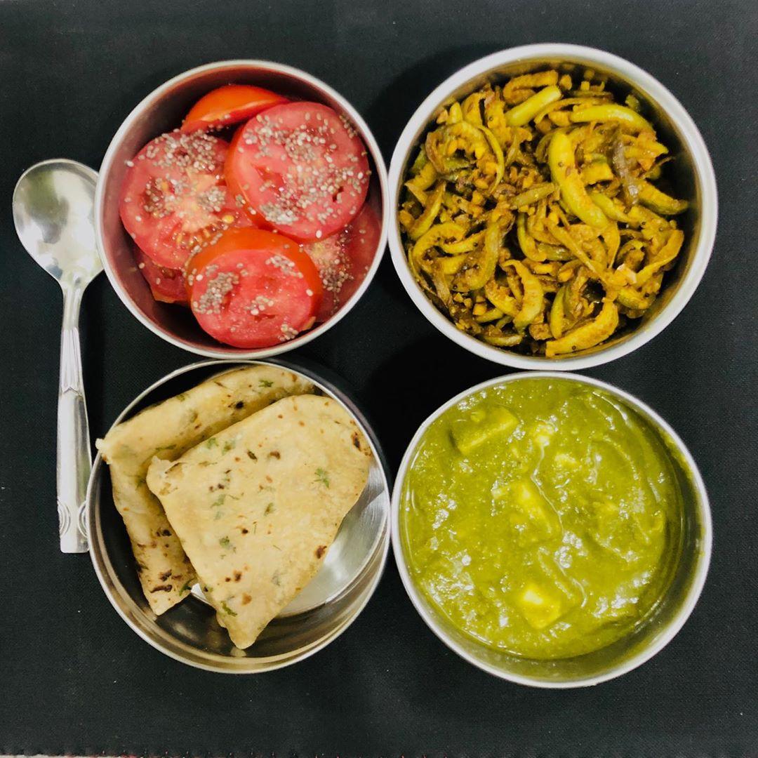 Komal Patel,  lunchbox, lunchboxidea, healthylunchbox, indianlunchbox, lunchideas, dietitianmeal, komalpatel, balancedmeal, veggies, healthytiffin, kptiffinidea