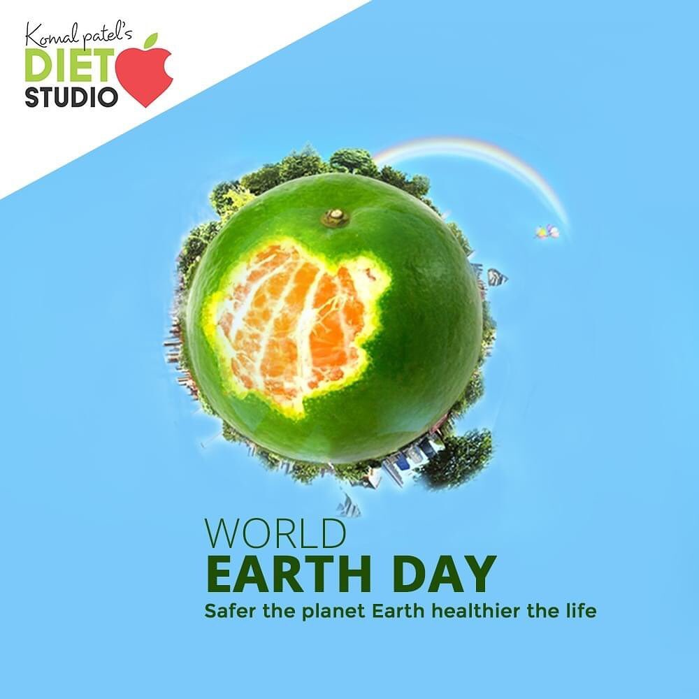 Safer the planet Earth healthier the life.  #WorldEarthDay #WorldEarthDay2020 #EarthDay #komalpatel #onlineconsultation #dietitian #ahmedabad #dietclinic #dietplan #weightloss #pcos #diabetes #immunitydietplan