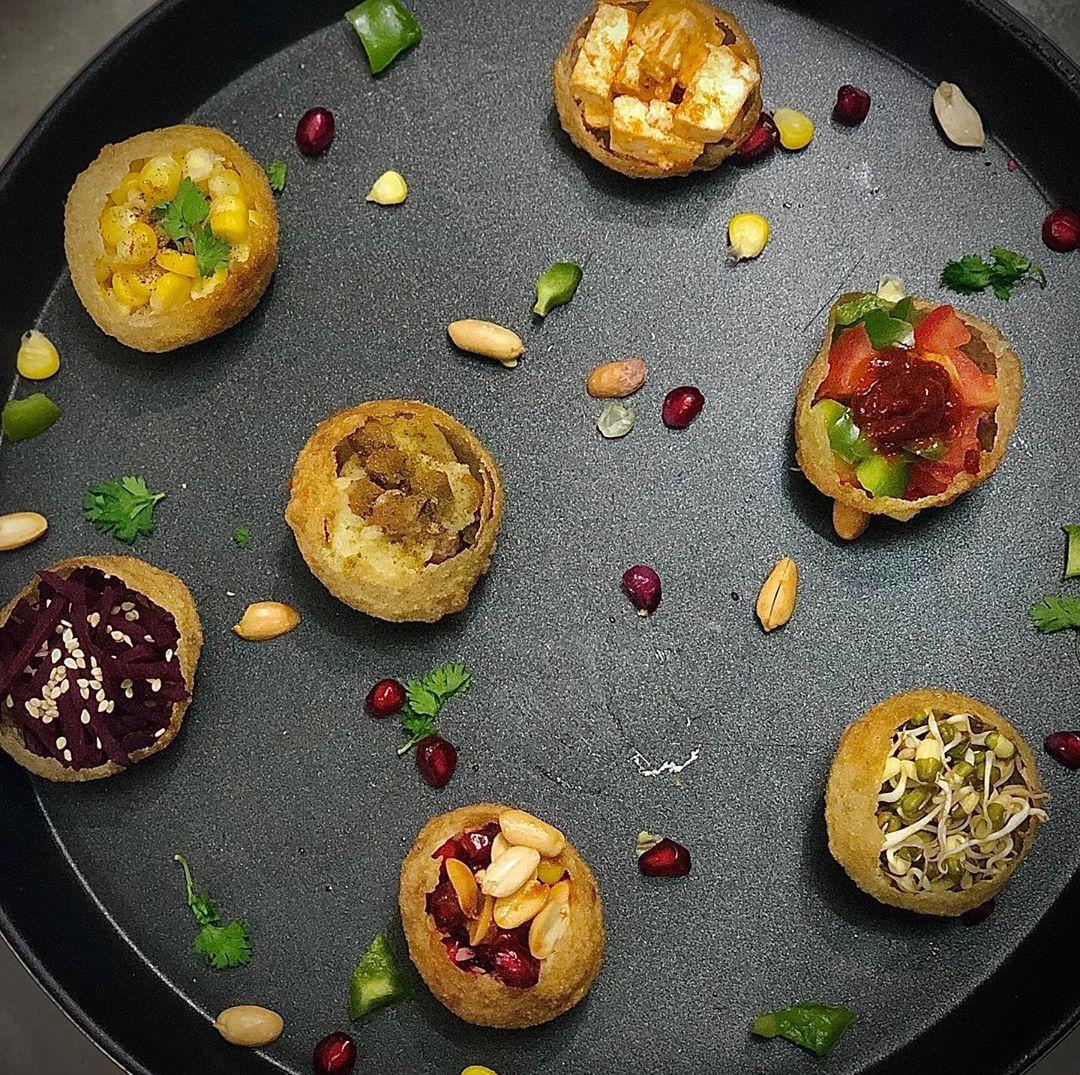Komal Patel,  panipuri, panipurisalad, panipurishots, komalpatel, dietitian, diet, weightlossdiet, salad